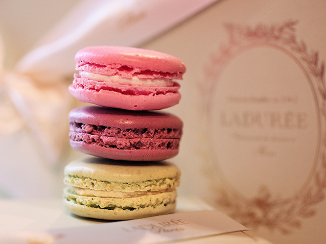 The story of the Ladurée macaron.