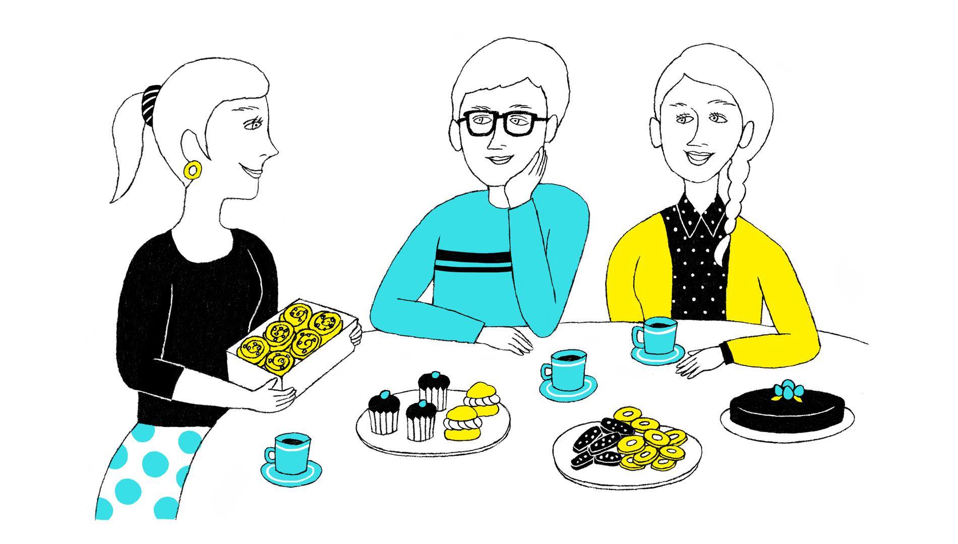 スウェーデン編 みんな喜ぶ「フィーカ」のギフト