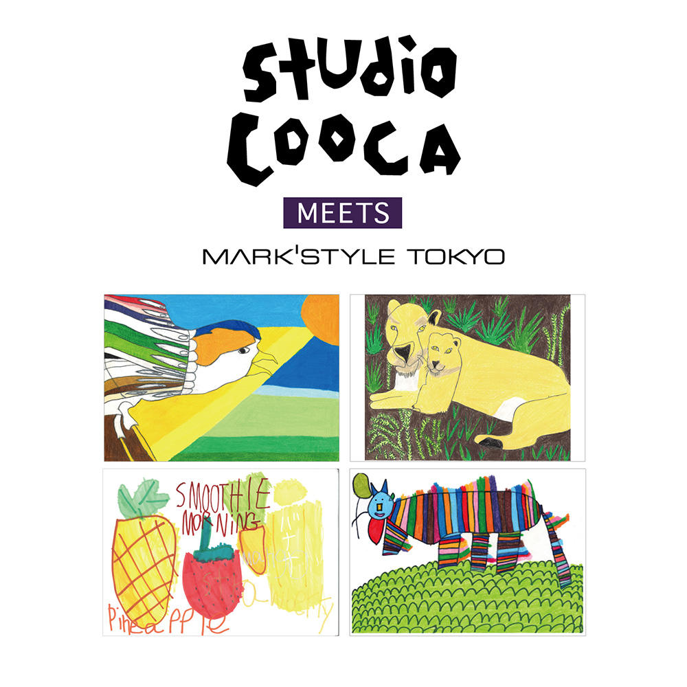 GINZA SIX店のインショップ・ギャラリーでは「studio COOCA meets MARK'STYLE TOKYO」を開催しています。